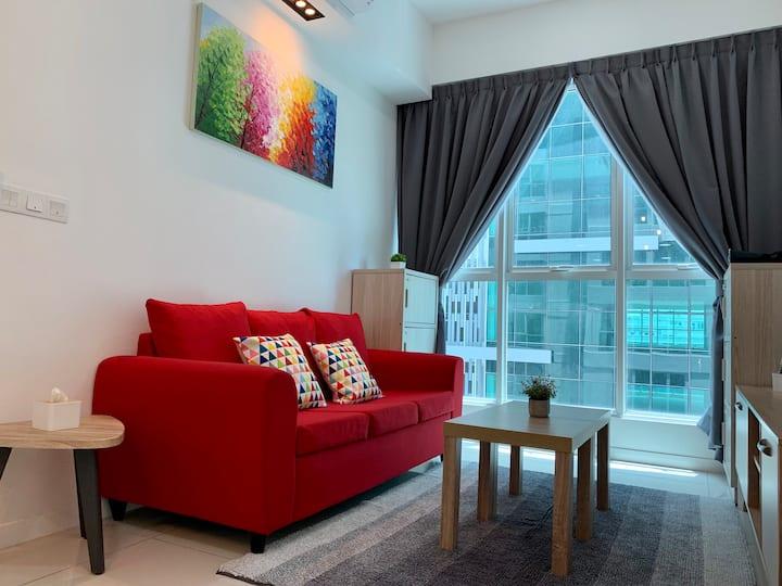 "Yvonne's (1) Home Suite Sutera Avenue . ""一碗""家庭套房亚庇"