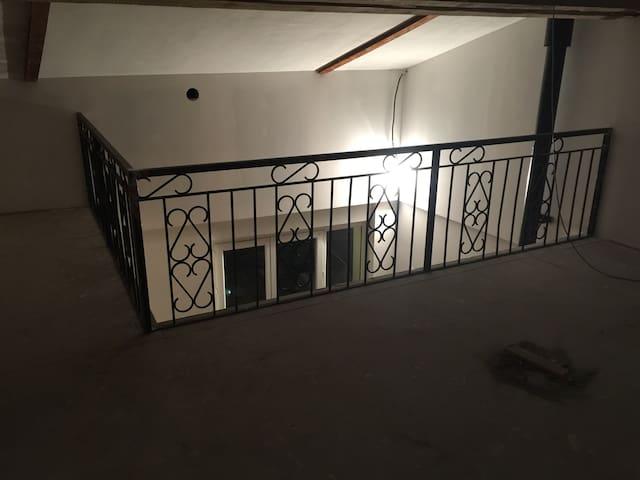 Loft style indus proches vienne - Auberives-sur-Varèze - House