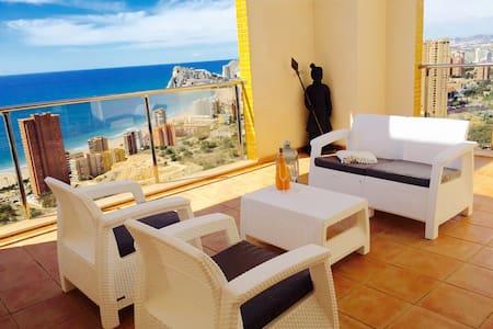 New modern duplex penthouse