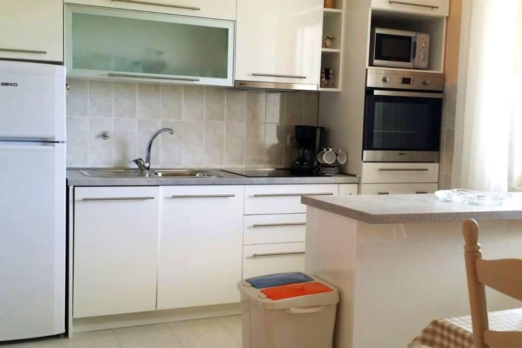 Wohnküche mit Theke