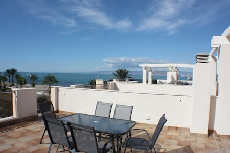 Beach front apartment amazing views - Cartagena - Lejlighed