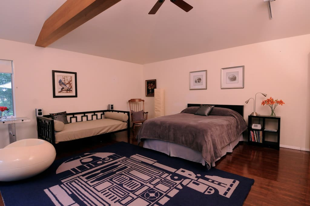 Queen Bed, Day Bed and twin bed