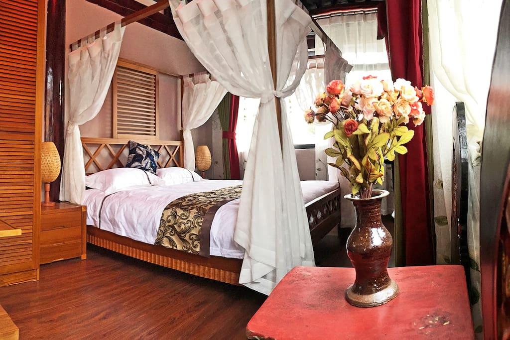 1号房:三楼独立空间+休闲区