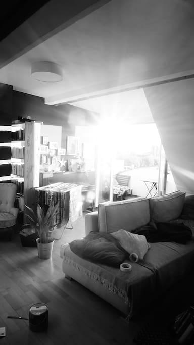 Alltag im Wohnzimmer