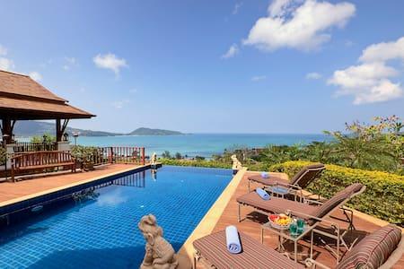 Patong Bay Seaview 3 Bedroom Villa - Patong - Villa