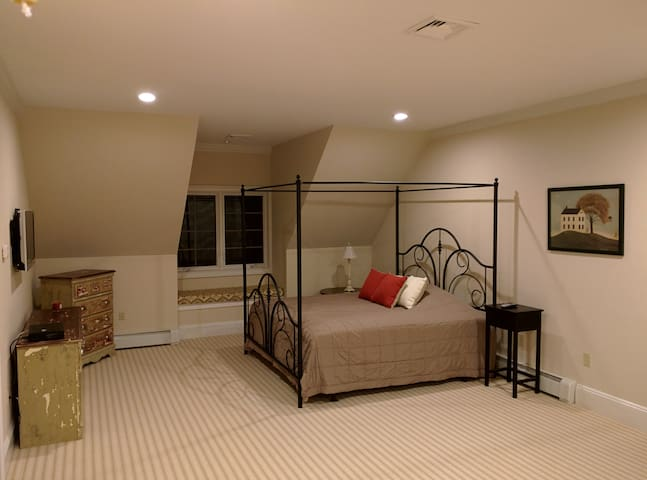 A master suite on a private lake - Rockaway - Hus