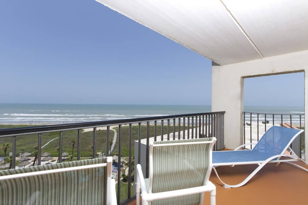 Private Oceanfront Balcony