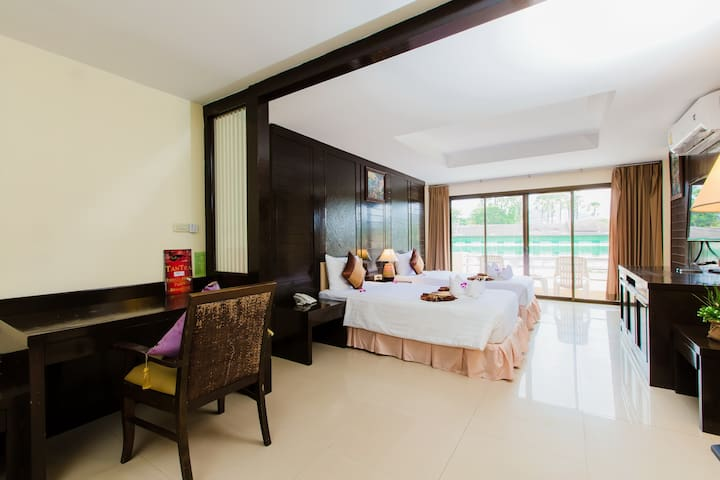 E deluxe double White Sand Resort - Patong - Boutique hotel