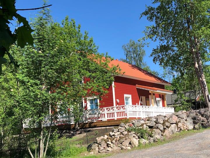 Villa Ranta, uusi huoneisto idyllisessä kylässä
