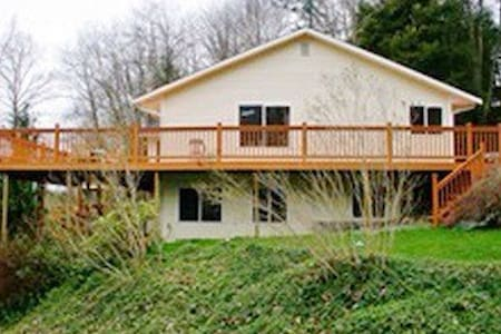 Beautiful deck under the stars - Sedro-Woolley - บ้าน