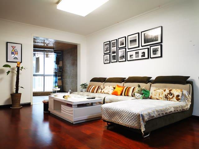 安康《小熊九号民宿》近汉江之畔,精致田园温馨家庭公寓