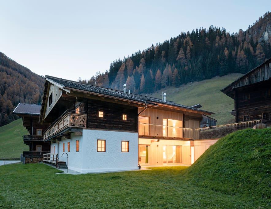 Giatla Haus - ein über 300 Jahre altes Bauernhaus, behutsam renoviert