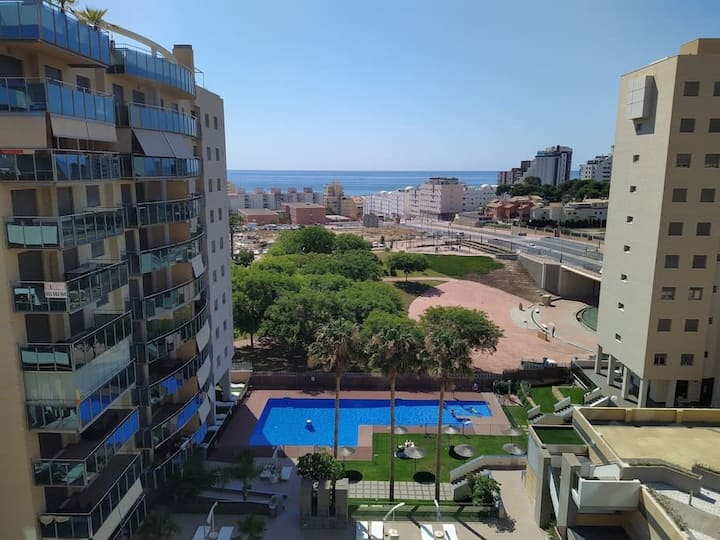 El Campello, Sea view and Pool, 3 Bedroom
