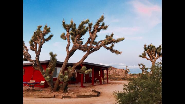Quiet + Starry Pioneertown Artist's Retreat