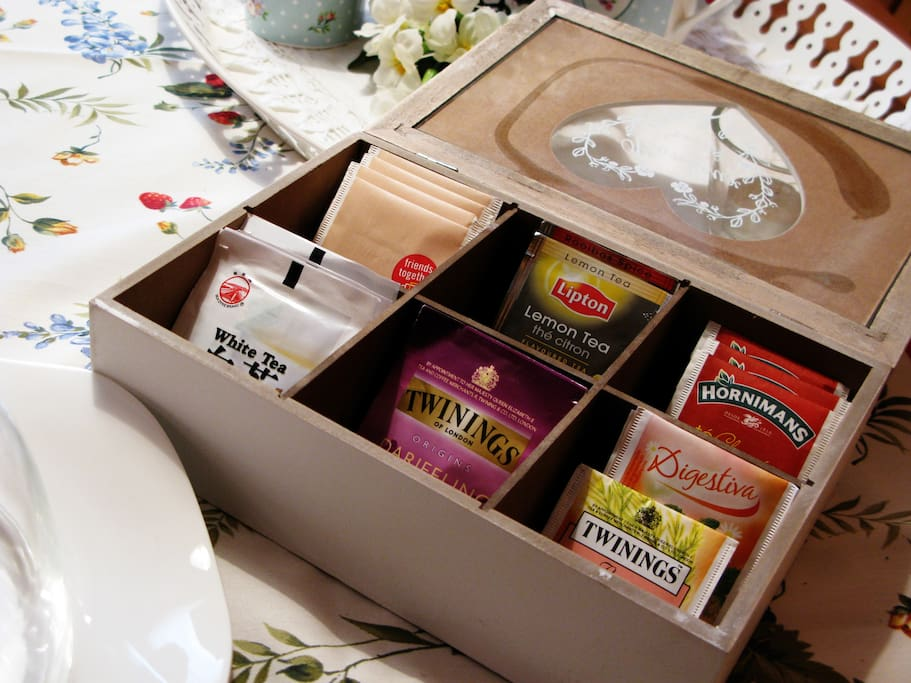Te apetece un té?