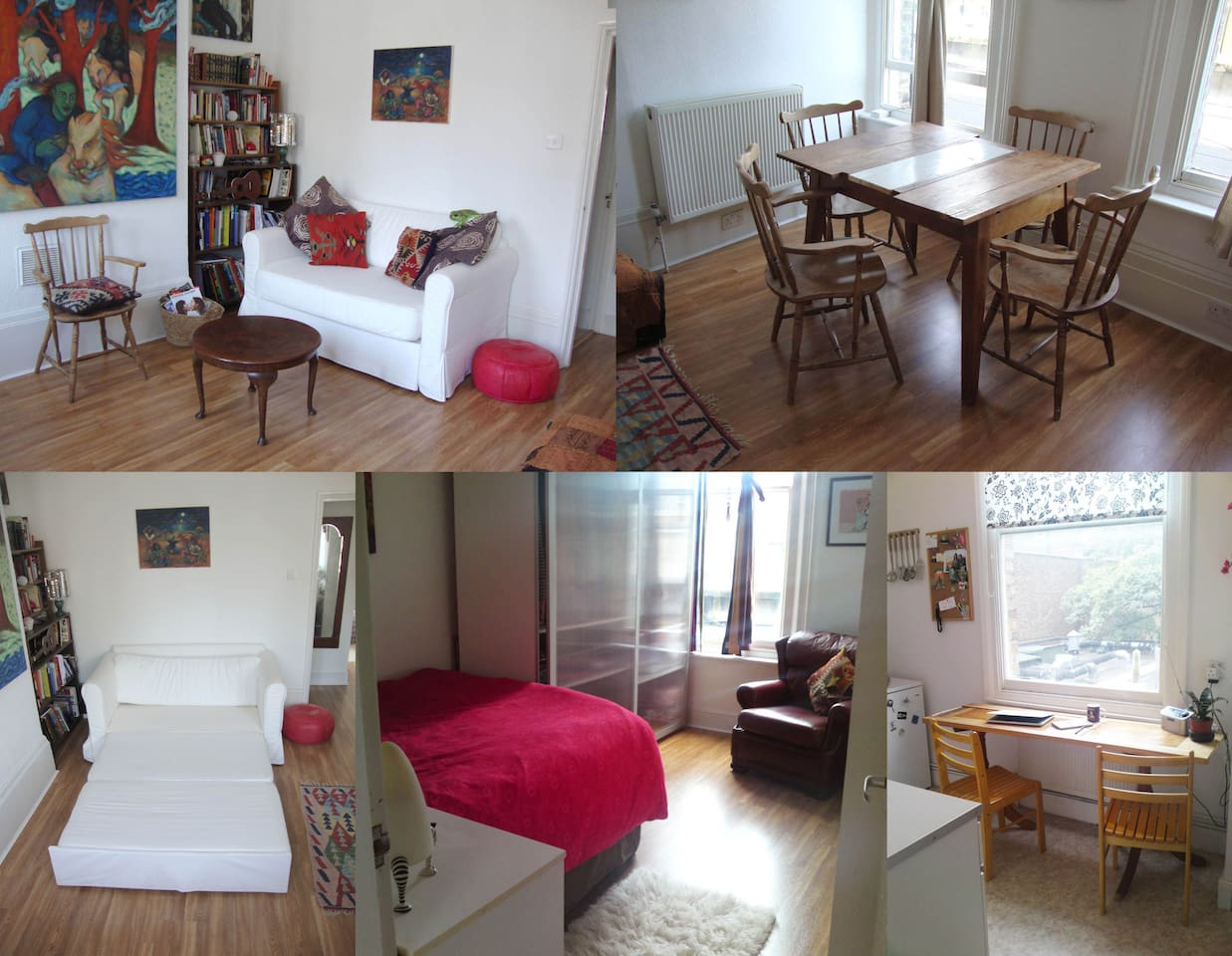 Bright, friendly and self catering apartment in central London.