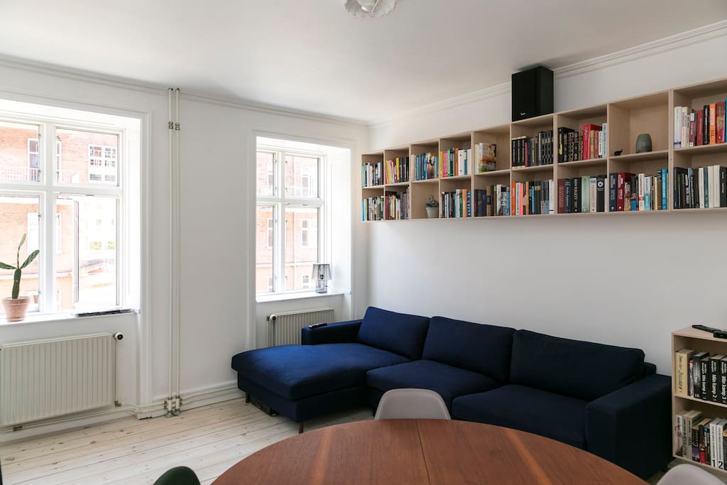 Our beloved couch and dining table from the famous danish designer Wegner