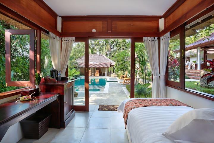 Single bedroom pavilion