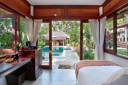 Single bedroom pavilion - Ubud