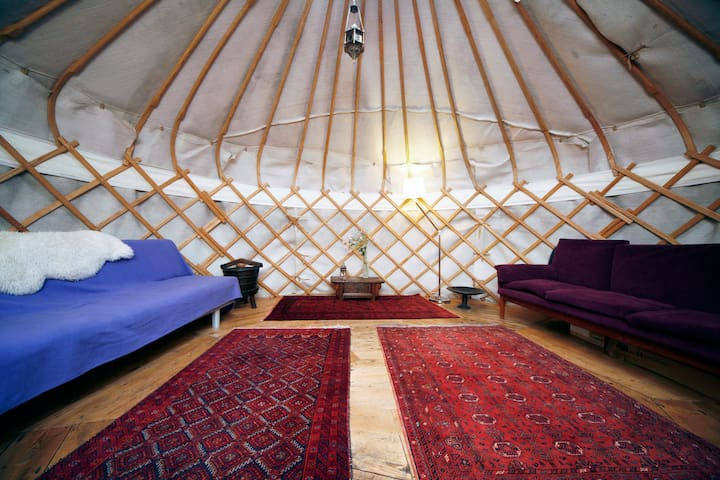 Yurts are truly gracious, following an ancient design and pattern
