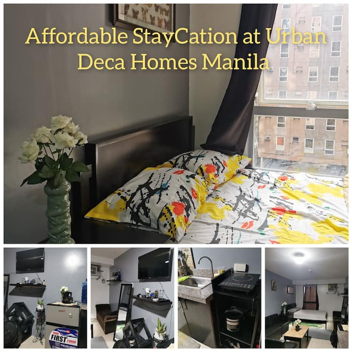 AFFORDABLE STAYCATION AT DECAMANOR