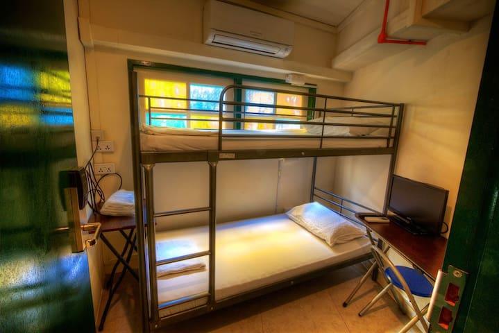 1-person Bunk Bed Private Room