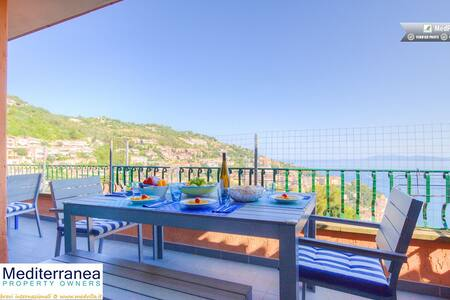 Porto Santo Stefano♥ 6sleeps Airco Terrace Parking - Porto Santo Stefano - Maison
