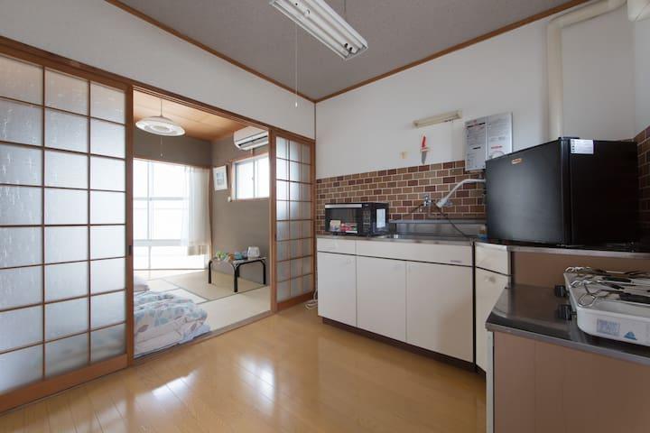 Apartment near Kamogawa  - 京都市左京区吉田上阿達町 - Apartment
