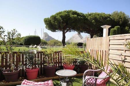 Studio jardin entre Nice et Cannes - Villeneuve-Loubet
