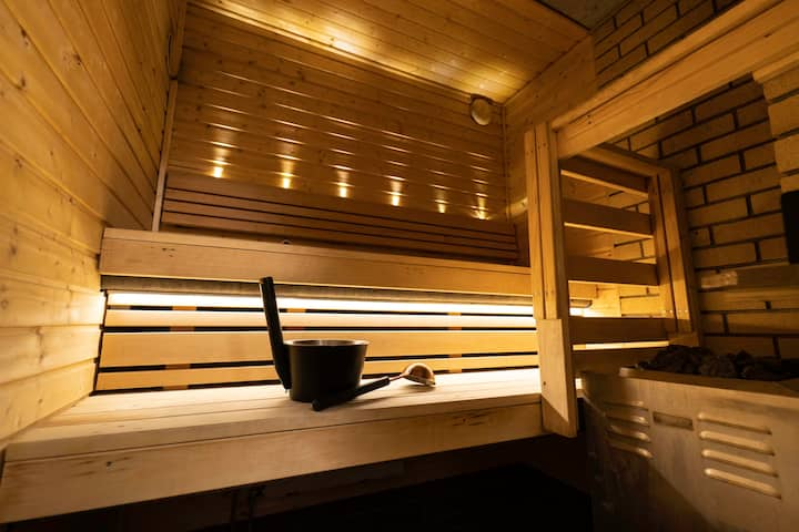 Finnish Sauna in the heart of the city center