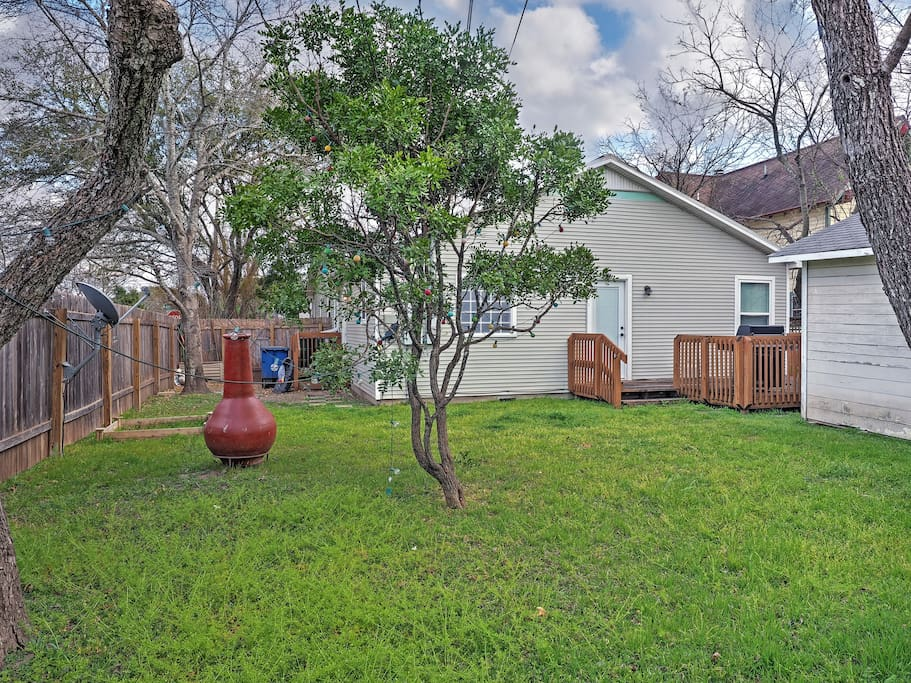 Enjoy the best of outdoor living at this wonderful Austin vacation rental home!