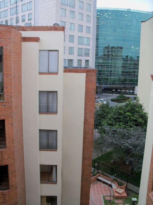 Frente a Zona hotelera
