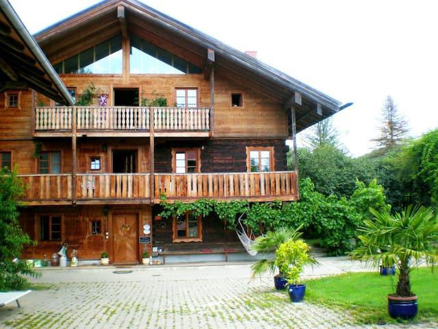 """5*Zimmer """"Empore 3"""" im Golf- und Thermenparadies - Egglham - Huis"""