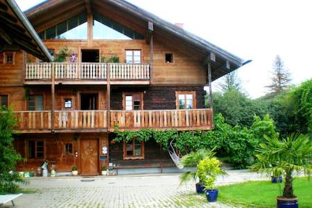 "5*Zimmer ""Empore 3"" im Golf- und Thermenparadies - Egglham - บ้าน"