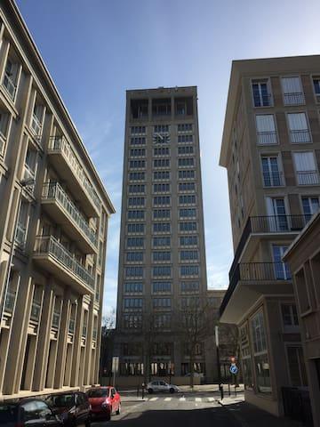 Studio centre-ville proche plage - Le Havre - Apartment