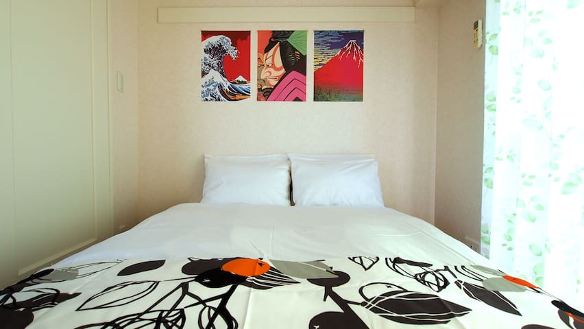 Check in 2pm!!3minWalk Amazing Hakata Luxury Apt - Fukuoka-shi - Apartment