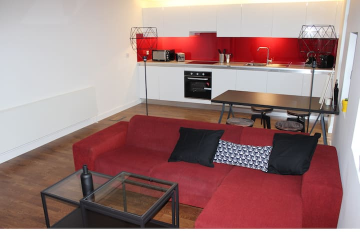 Modern 2 bed apartment- Manchester city centre - Manchester