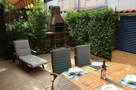 Blue apartment with nice terrace - Malinska - Apartment