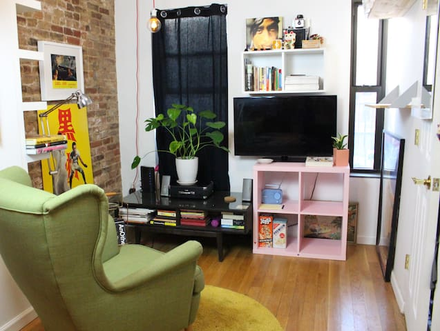 Funky Lower East Side-Chinatown Apartment! - นิวยอร์ก