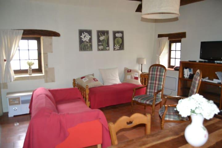 Charmant logement + jardin centre Azay le Rideau - Langeais - Apartment