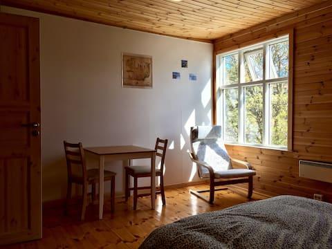 Large Serene Eastfjords Bedroom (22m2)