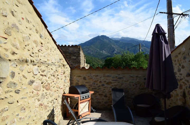 Converted Stone Barn - Mas d'en Roca - Views