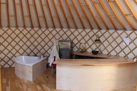 Magnifique Yourte contemporaine - Daumeray - Khemah Yurt