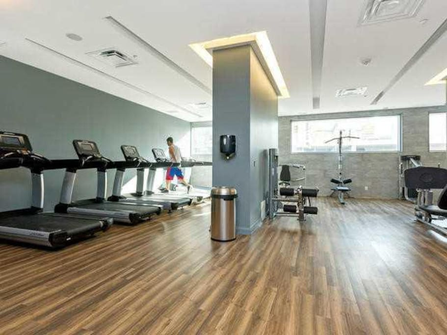 Gym on 3rd floor