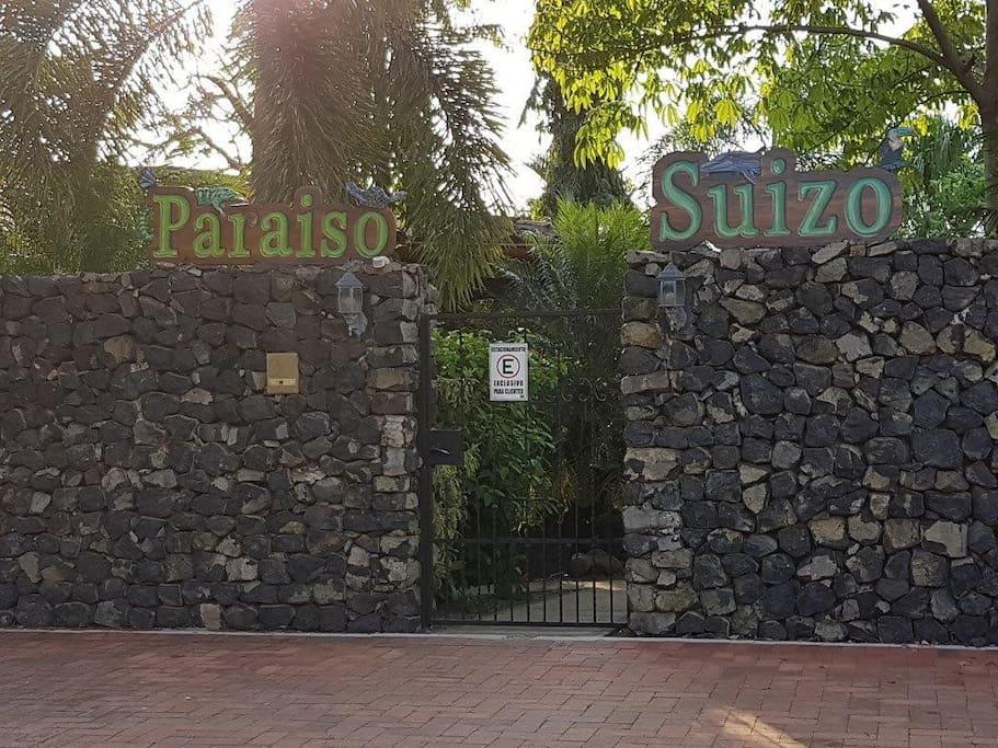 Entrance Parking