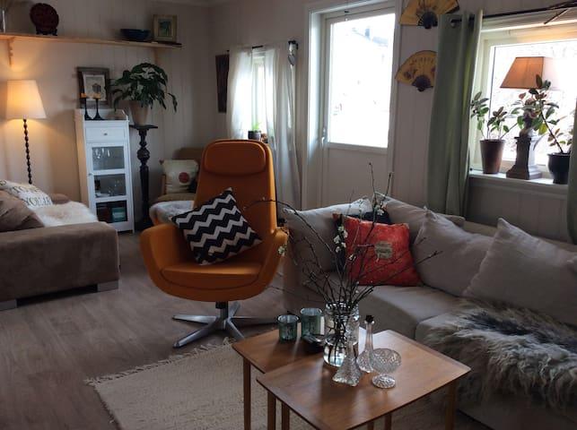Hjemmekoselig med eget uteområde - Bø - Leilighet
