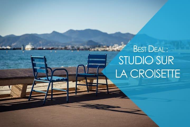 La Croisette***** w/ balcony - Cannes - Departamento