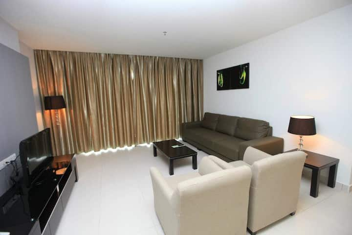 3 bedroom apartment (Merdeka Suites Hotel)