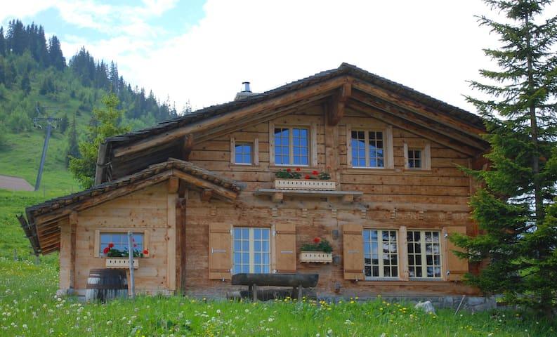 Chalet Bärgblüemli, Axalp ob Brienz BE (1554müM) - Axalp - House