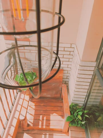 新房源 双人复古风格精品日租公寓